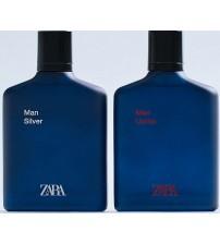 Туалетная Вода Zara Man Silver + Zara Man Uomo