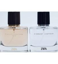 Парфюмированная вода Zara Vibrant Leather + Zara Vibrant Leather Oud