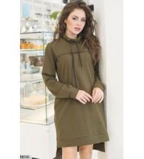 Платье-худи 58191