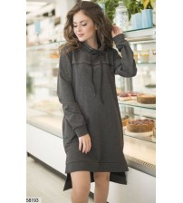 Платье-худи 58193